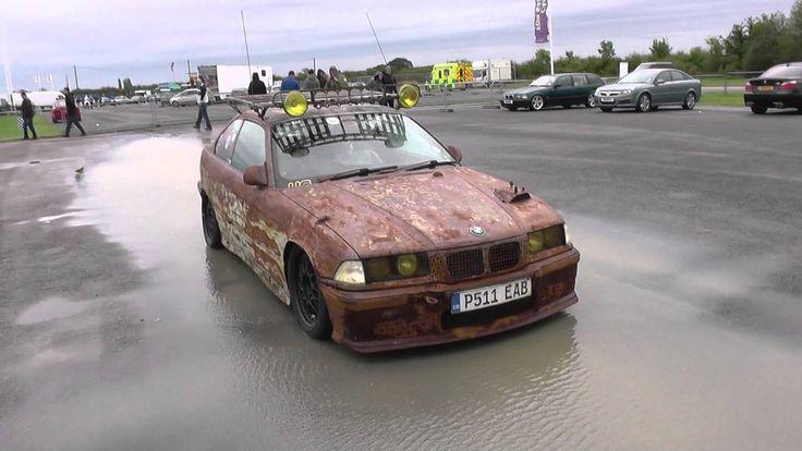 Euro style rat look rat rod BMW