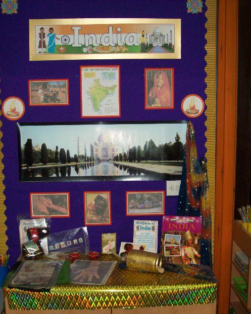India classroom display photo - Photo gallery - SparkleBox