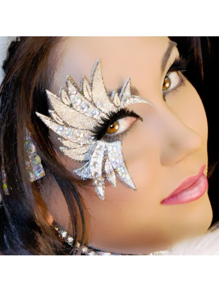 sexy silverwing xotic eye silver professional eye make up kit angel costume - Halloween Angel Makeup Ideas