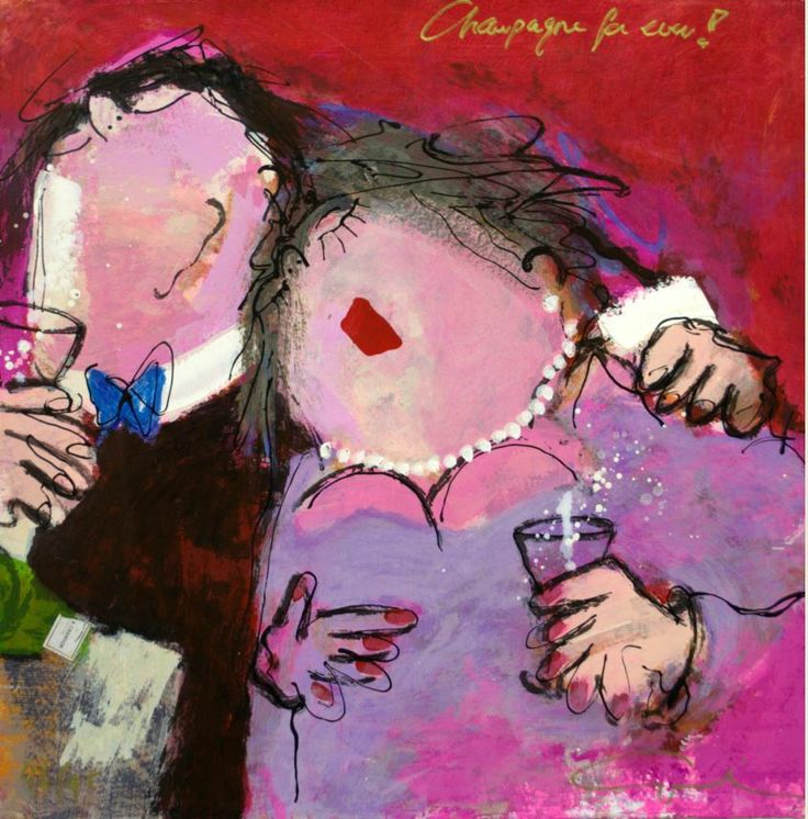 You can lease this painting by Gerdine Duijsens, 'Champagne for ever!' http://www.bonnefanten.nl/en/art_lease