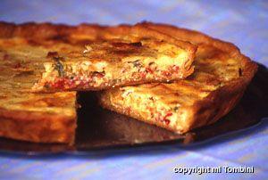 Tarte à la cancoillotte et au chorizo, la recette d'Ôdélices : retrouvez les ingrédients, la préparation, des recettes similaires et des photos qui donnent envie !