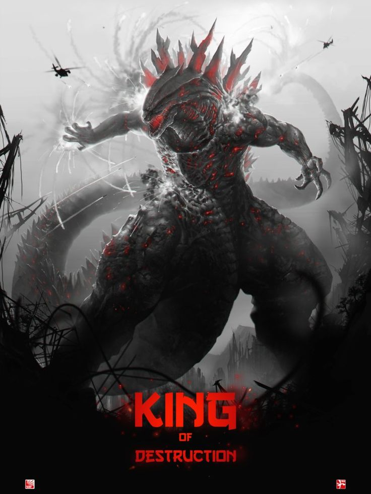 King of Destruction by BaBoomArt.deviantart.com on @DeviantArt