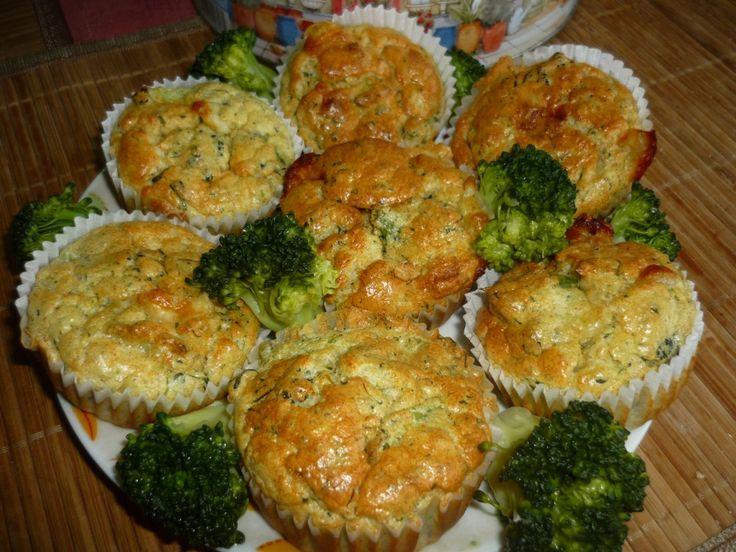 Brokolicové mafiny