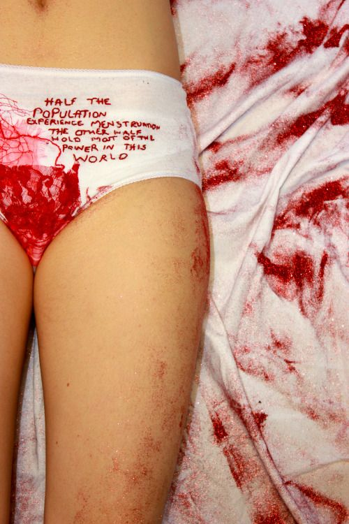 We Bleed. My Foundation Final Major Project looks at the stigma behind Menstruation and the way in which it could be challenged.  My aim for this project is to empower, to challenge the stigma and convert the embarrassment into pride. To give women the opportunity to shout 'HEY! I bleed as a sign that my body is preparing to keep the human race alive. Don't disrespect it. Its a sign of our survival'. (via lnconvenientcrush)