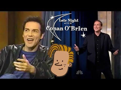 Norm Macdonald on CONAN Late Night - Huge Compilation https://www.youtube.com/watch?v=Ma8cx1ufOhg