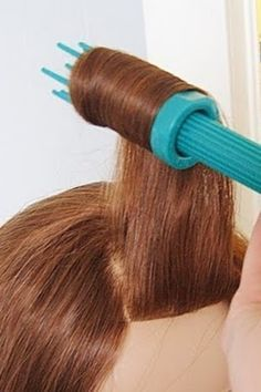 Victory curls and pin up hair tool 29 Hairstyling Hacks Every Girl Should Know