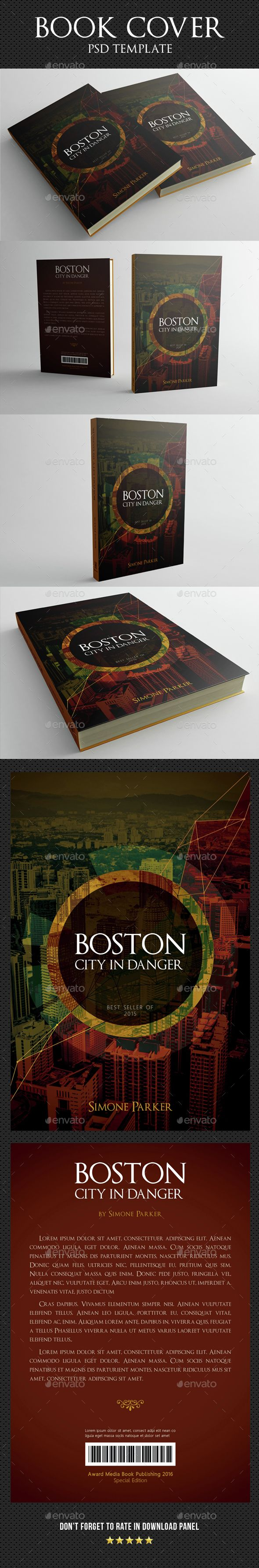 Book Cover Template 06 — Photoshop PSD #edition #book cover template • Available here → https://graphicriver.net/item/book-cover-template-06/15160556?ref=pxcr