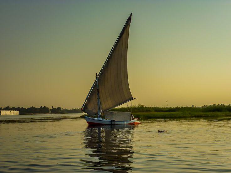 Felucca Nile Fishing Boat by Eleni Mac Synodinos on 500px