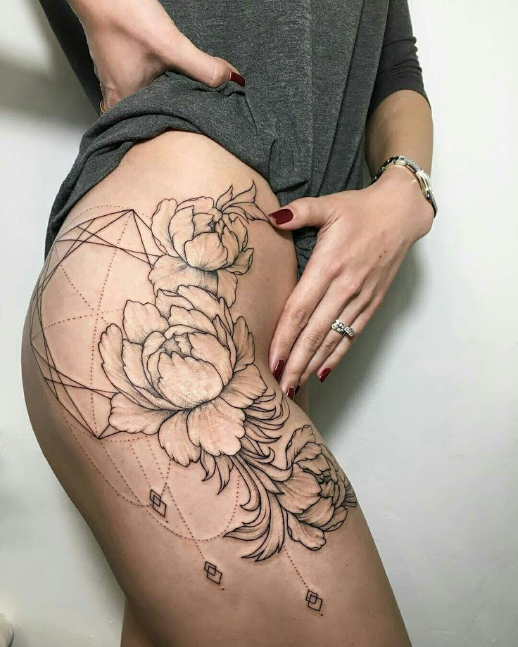 Tattoo done by: Ira Shmarinova #flower #flowertattoo