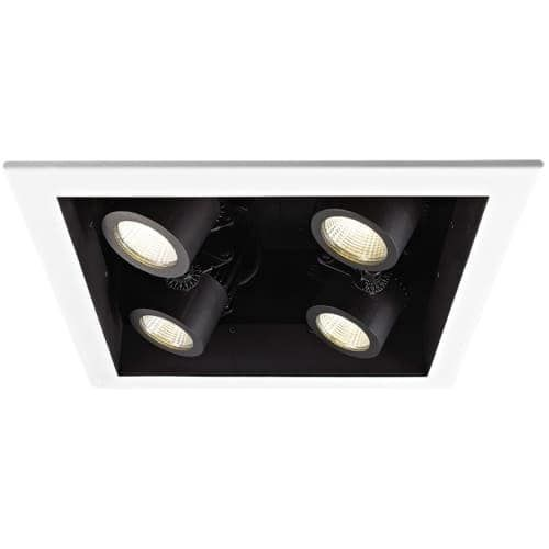 WAC Lighting MT-4LD226N-S40 4 Light Energy Star 4000K High Output LED Recessed Light Housing for New Construction - Non-IC Rated