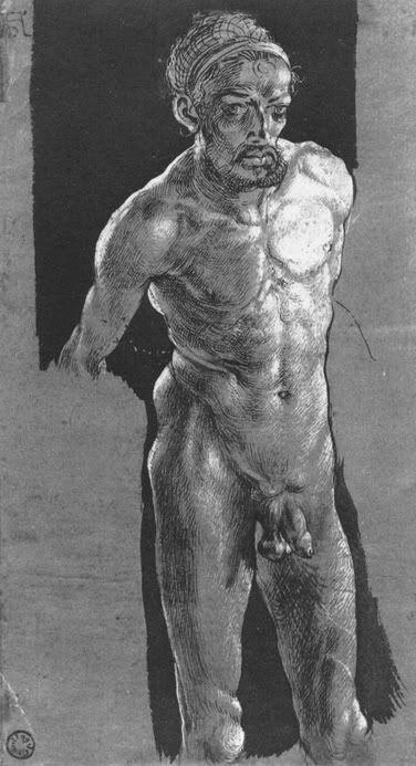 Kunstsammlung Weimar 1505. Автопортрет Дюрера.