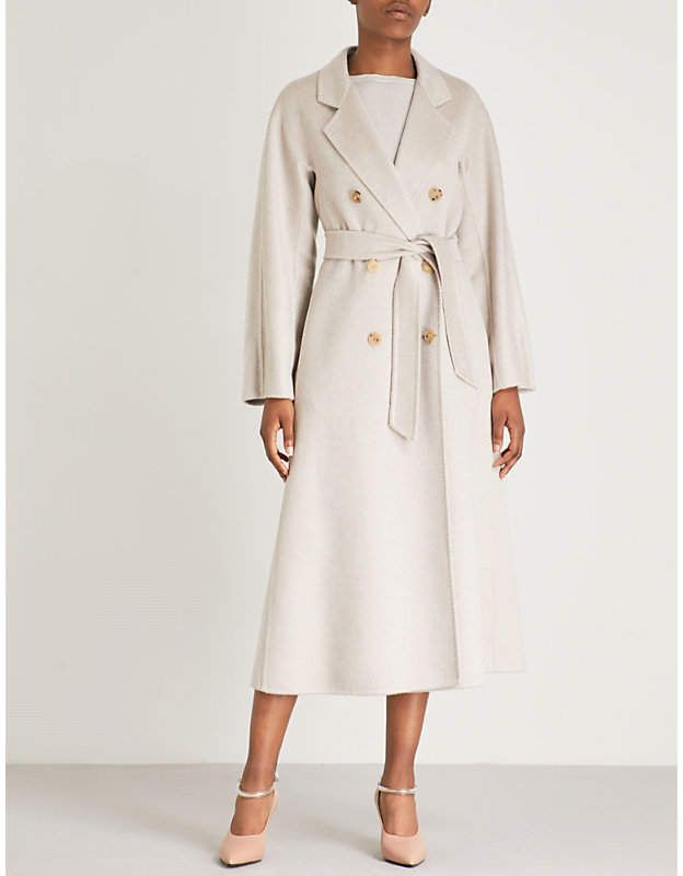 Bondone double-breasted cashmere coat