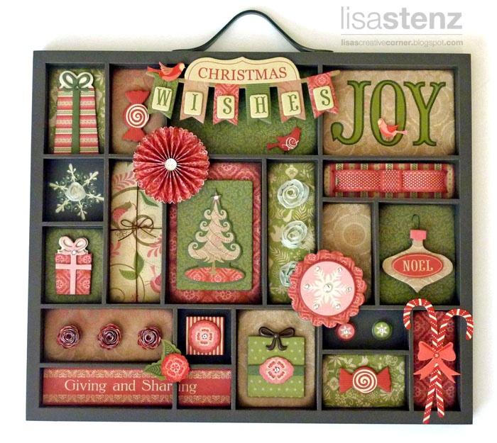 Christmas Printers Tray