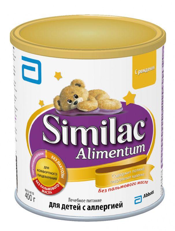 Similac Алиментум – доказанный эффект у детей с аллергией на белок коровьего молока. Полный гидролизат казеина - белковая молекула расщеплена на мелкие фрагменты, что существенно снижает аллергенность смеси и позволяет вскармливать детей с тяжелой аллергией. Среднецепочечные триглицериды - легкоусваиваемые жиры важны для детей с тяжёлой аллергией, у которых может быть нарушено всасывание липидов в кишечнике.