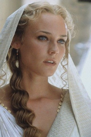Helen of Troy. They fought a war over her beauty.