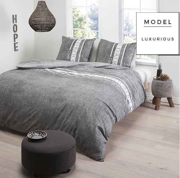 Szara nowoczesna pościel do sypialni