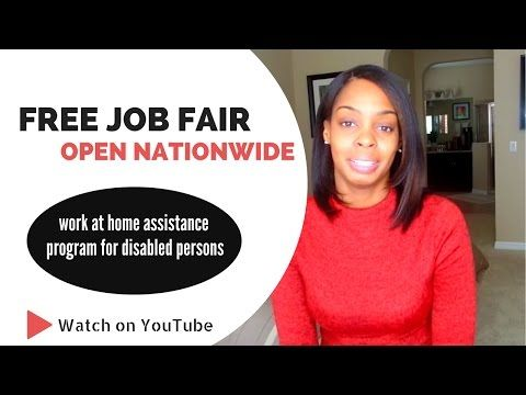 FREE Job Fair & Work at Home Job Assistance Program for the Disabled -  http://www.wahmmo.com/free-job-fair-work-at-home-job-assistance-program-for-the-disabled/ -  - WAHMMO