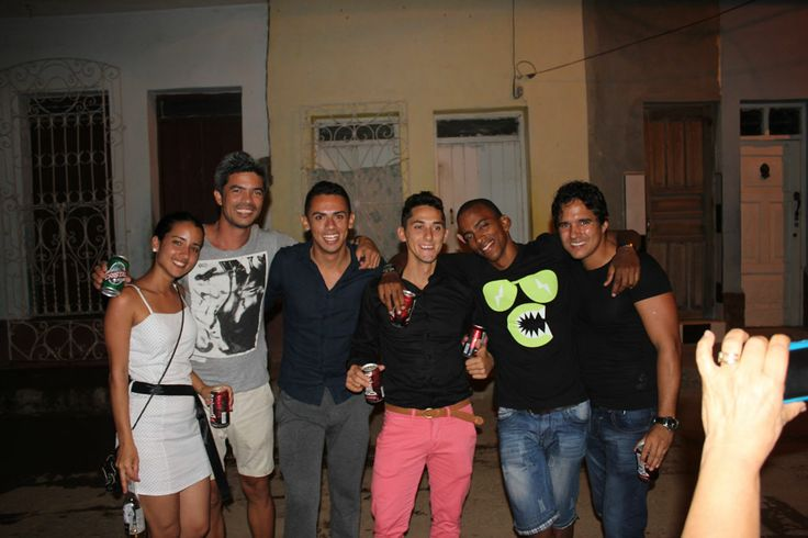 Locally Sourced Cuba guides met in Trinidad New Year Eve!
