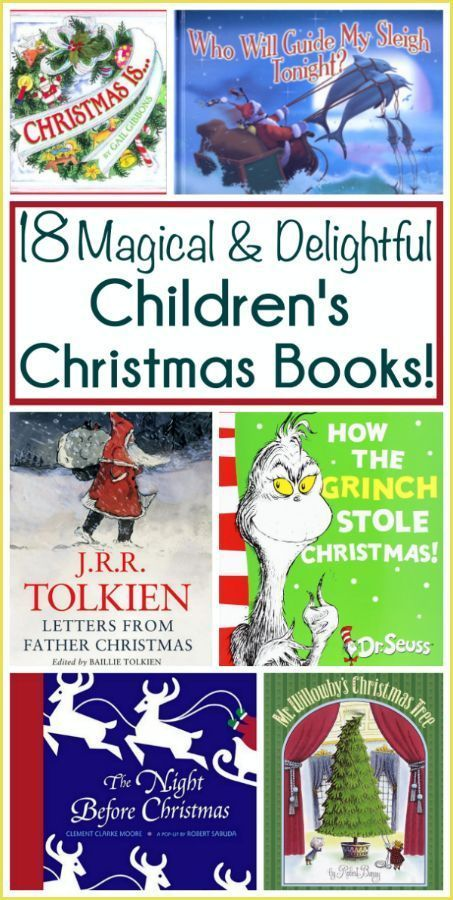 Magical Christmas books for kids. All children should have these books read to them while celebrating the holidays!