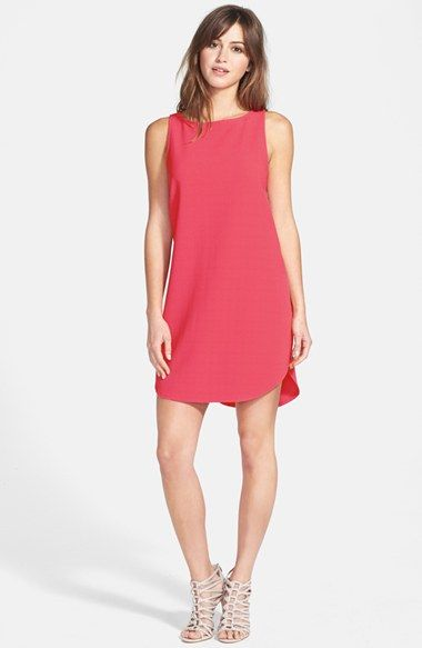 BB Dakota 'Mariam' Cutout Back Textured Dress available at #Nordstrom