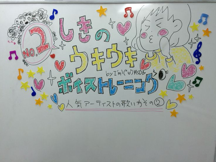 「しきものウキウキボイストレーニングNO.2」タイトル