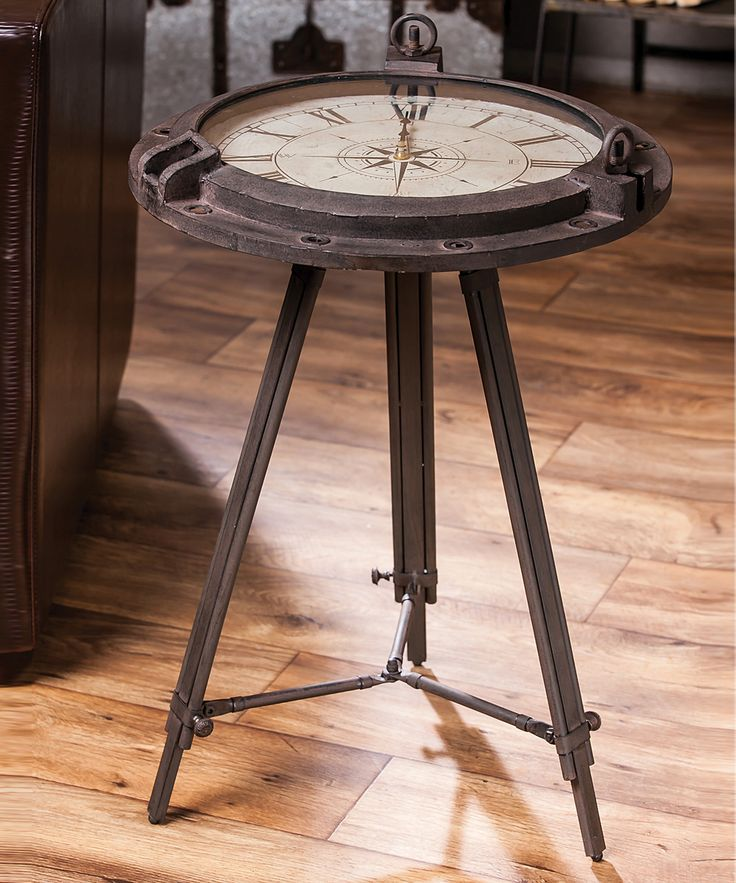 25 Best Ideas About Clock Table On Pinterest Find Furniture Small Round Side Table And Round