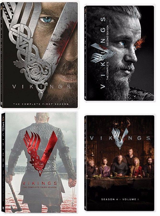 Vikings Seasons 1-4 (DVD)