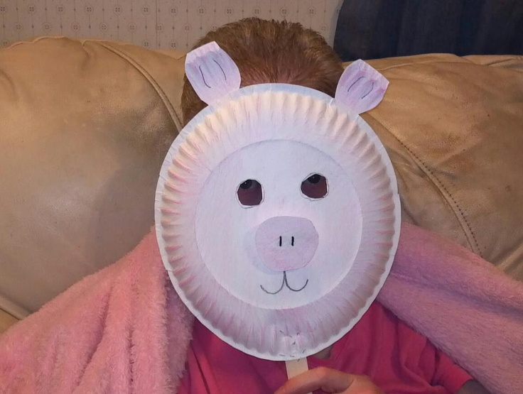 Paper Plate Pig Mask Crafts For Kids Pinterest & Paper Plate Pig - Castrophotos