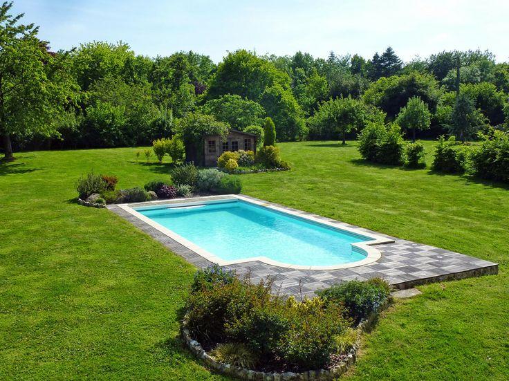 1000 images about locations avec piscine on pinterest - Gite normandie piscine interieure ...