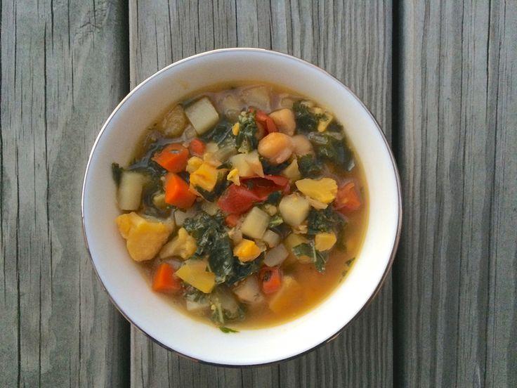 A Very Veggie Soup for #KidsCookMonday!