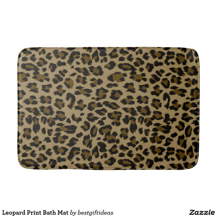 Cheetah bathroom
