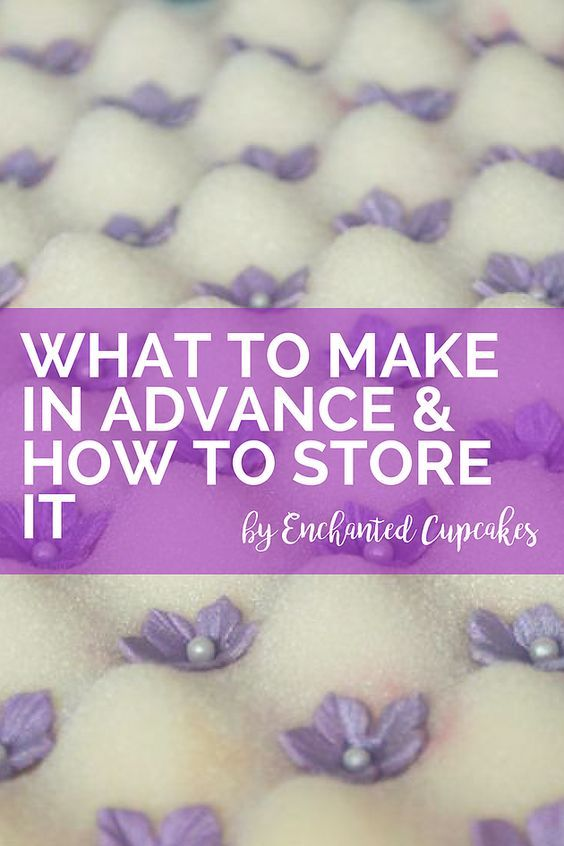Our cake decorating guide has lots of brilliant tips, tricks and techniques to allow you to make your cakes and decorations in advance. Learn what cakes and cake decorations you can make in advance and how to store them.