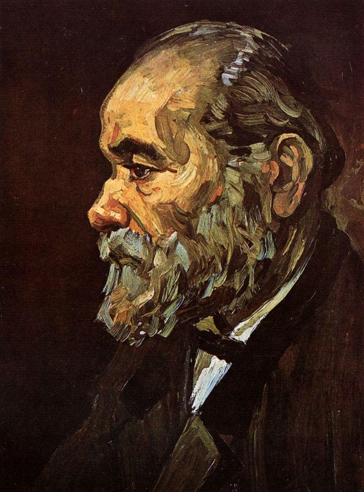 Portrait of an Old Man with Beard, 1885  Vincent van Gogh: Vincent Of Onofrio, Old Mans, Beards Vincentvangogh, Vincent Vans Gogh, Art, Beards 1885, 1885 Vincent, Portraits, Vincent Van Gogh