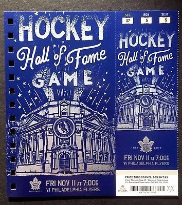 2016-17-Toronto-Maple-Leafs-vs-Flyers-Hockey-Hall-of-Fame-Game-Featured-Ticket