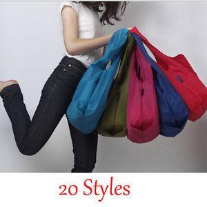 New-Eco-Shopping-Travel-Shoulder-Bag-Pouch-Tote-Handbag-Folding-Reusable-Bags