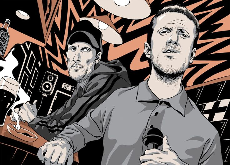 Andrew Fearn and Jason Williamson create the musical equivalent of a hard, unfiltered spotlight.