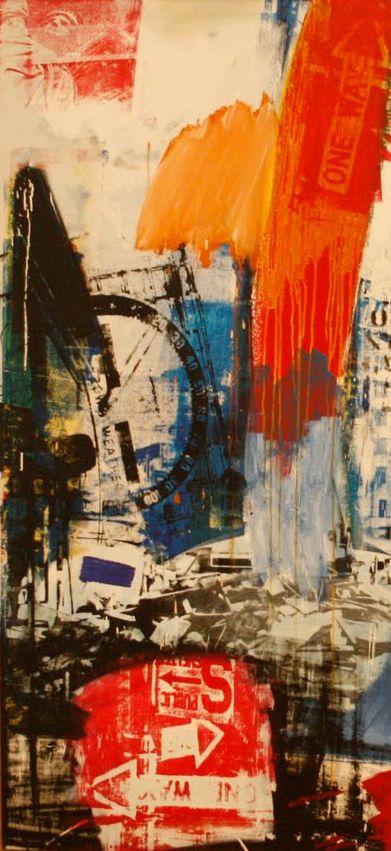 Choke, 1964.  Robert Rauschenberg.  (Detail.)