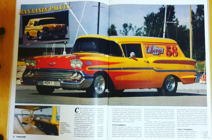 Chevrolet Delray Delivery 1958 SOLD