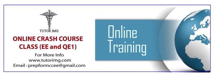 ONLINE CRASH COURSE CLASS (EE and QE1) COST :30 $ PAYMENT :TO REGISTER INTERAC E-TRANSFER TO PREPFORMCCEE@GMAIL.COM