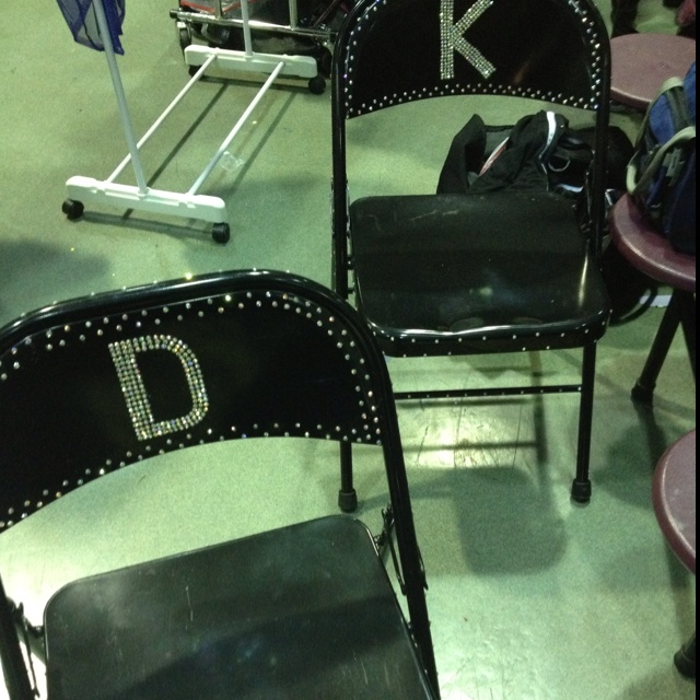 Check out these chairs from dance comp