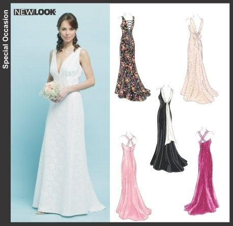 patron couture robe mariage