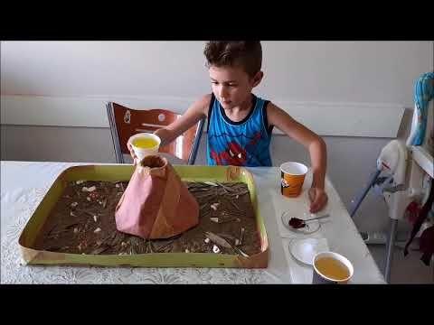 Volkan Deneyi - YouTube