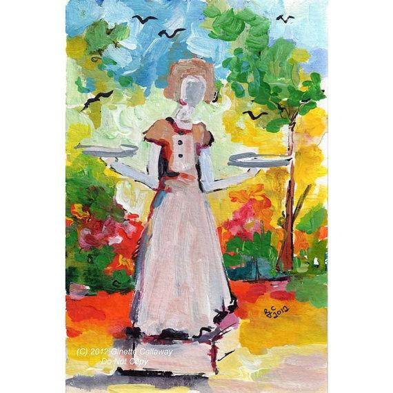 E Sylvia Shaw Oil Painting