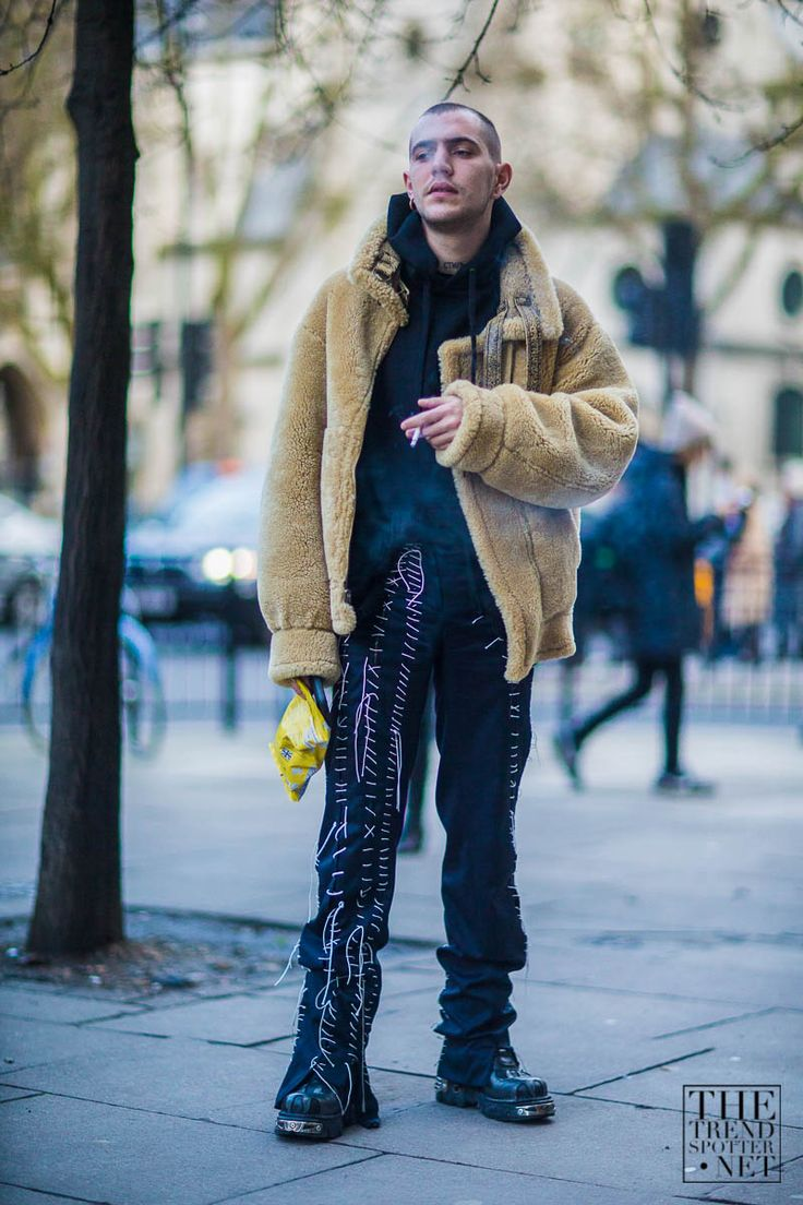 The Best Street Style From London Men's Collections A/W 2016