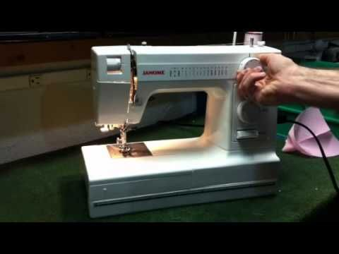 Janome HD1000 Sewing Machine Demo