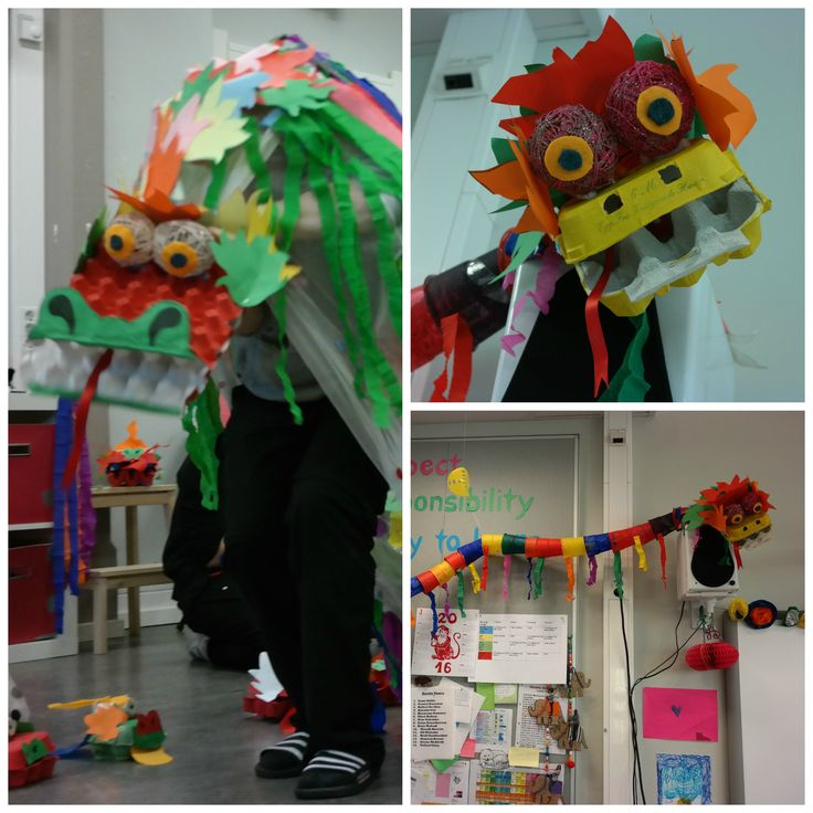 Chinese New Year!!! Our class was in charge of this festival assembly. The whole school actually worked on decorating the skirt of the big dragon, gluing tissue paper circles to it. Our class worked hard at cutting out the paper scales and painting other various parts. Then at the assembly each class got to take a turn dancing under the huge dragon costume while 3 students worked the smaller dragon that was attached to the top of 3 poles.