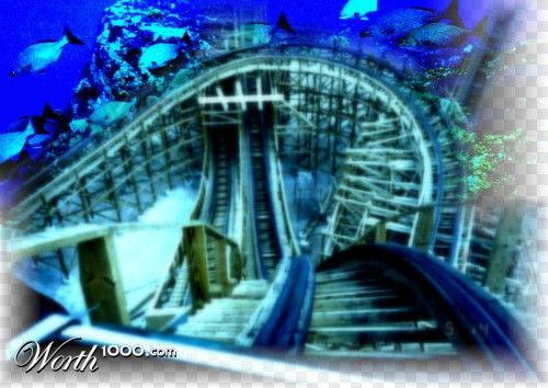 Roller Coaster Underwater Tunnel Sounds Thrilling Underwater Places Pinterest Underwater