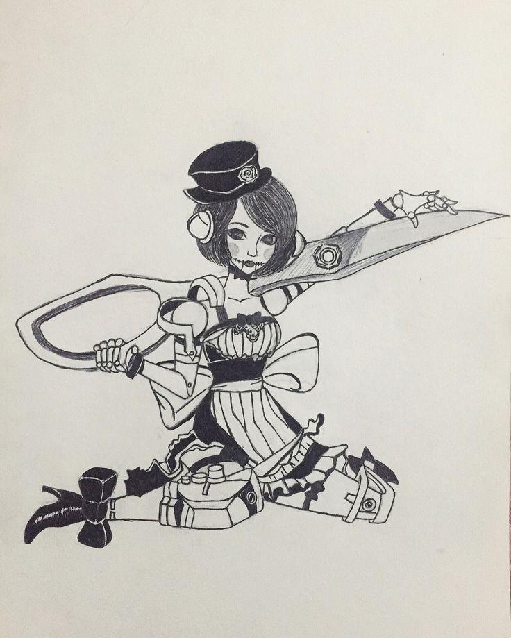 Alpha broken doll #vainglory