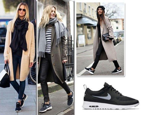 Nike Air Max Thea Cord Dungarees Overalls YSL bag Fashion