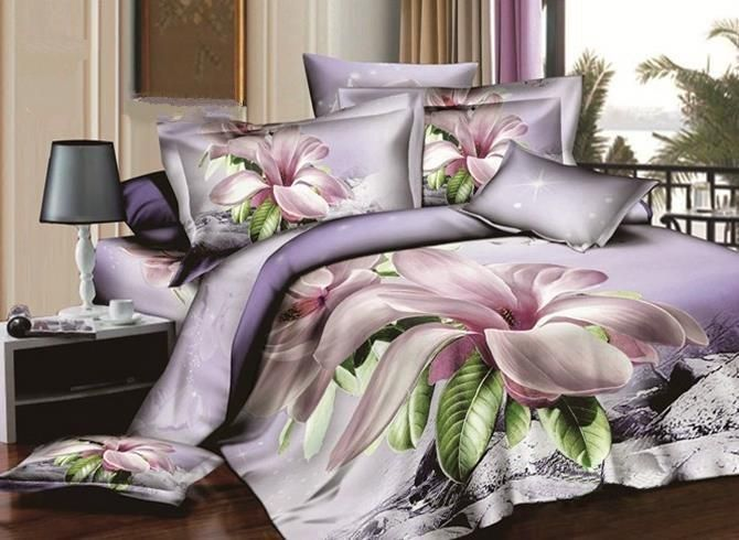 Cotton bed sheet active printing pure cotton bed cover 100/% cotton super cozy